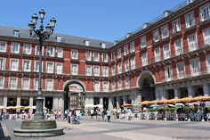 Plaza Mayor, Madrid Spain. One day, I'll be back!