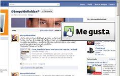 """""""Facebook Pages: No me parece justo ...a ti ni si quiera te gusta la mía""""  en las Redes se trata de Compartir, lo entienes, 'Quid Pro Quo'. No me parece justo que yo te tenga entre mis paginas destacadas, y a ti ni si quiera te guste mi pagina, imagino habrá sido un descuido...  (11/04/2011)"""