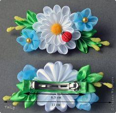 Декор предметов Украшение Цумами Канзаши Рамочка гребешки заколки Ленты фото 6