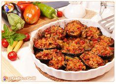 Melanzane spaccate e gratinate al forno #cucina #ricette #ilGalloalGrill #italianfood #food