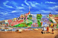 Salvation Mountain, California | 14 Items On The Ultimate American Summer Bucket List