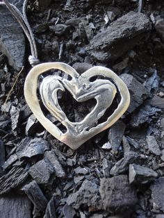 pendant  leaning     silver 925 Washer Necklace, Arts And Crafts, Pendant, Silver, Jewelry, Jewlery, Jewerly, Hang Tags, Schmuck