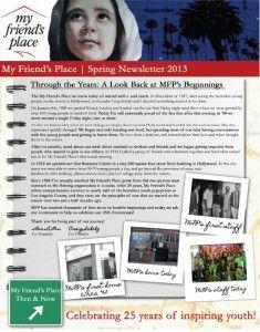 Thumbnail Newsletter 2013