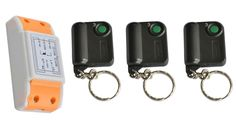 NEW AC220V 1CH 10A Receiver Remote Control Garage Door RF Wireless Remote Control Switch System 3X Transmitter + 1 X Receiver #Affiliate