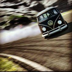Volkswagen Bus Drift!?