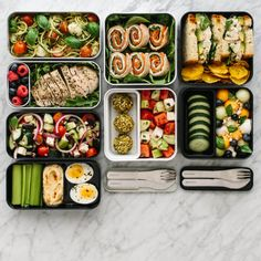Whole 30 Lunch, Lunch To Go, Healthy Meal Prep, Healthy Recipes, Bento Recipes, Healthy Lunches, Meal Recipes, Healthy Foods, Healthy Eating