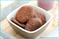 Sablés bretons au chocolat de Philippe Conticini Biscotti Cookies, Co Working, Biscuits, Chocolate, Chefs, Blog, Sweet Desserts, Kitchens, Crack Crackers