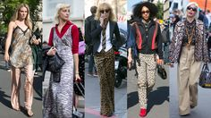 Animal Prints Spotted on the Streets of Paris Fashion Week, Day 2. Here is further proof, via street style, that there are almost infinite ways to wear zebra stripes and leopard spots.