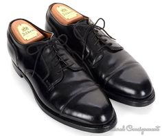 ea9c7abbb23 alden solid black shell cordovan mens oxford blucher dress shoes 9 bd alden  cordovan shoes ebay