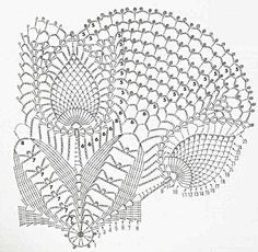 Only Crochet Patterns Archives - Beautiful Crochet Patterns and Knitting Patterns Filet Crochet, Débardeurs Au Crochet, Crochet Doily Diagram, Crochet Doily Patterns, Crochet Round, Crochet Chart, Crochet Home, Thread Crochet, Crochet Doilies