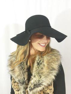 Keep It Chic Hat-BLACK