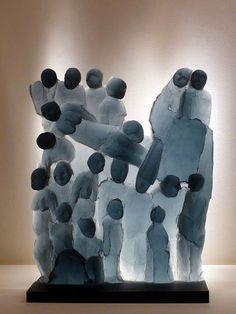 +1786 Ann Wolff, scultura in vetro