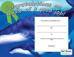 Congratulations Certificate  Kid Pointz  Recetas    Kid