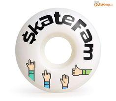 Skateboard Wheels For Street 52mm 100A Set Custom