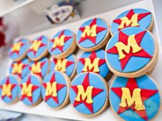 Superhero cookie idea