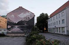 """""""Rest in Stillness Like Sky Mountain Lake"""" by Ricky Lee Gordon in Vaasa, Finland https://streetartnews.net/2017/10/rest-stillness-like-sky-mountain-lake-ricky-lee-gordon-vaasa-finland.html …"""