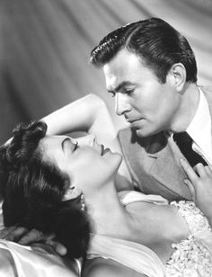 Ava Gardner and James Mason in a publicity shot for Pandora and the Flying Dutchman (Albert Lewin, vintage - old hollywood - vintage hollywood - golden age hollywood Golden Age Of Hollywood, Vintage Hollywood, Hollywood Glamour, Hollywood Stars, Classic Hollywood, Clark Gable, Classic Movie Stars, Classic Movies, Ava Gardner Movies