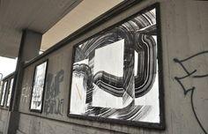 Never 2501 - Italian Street Artist - Bologna (IT) - 01/2015 - |\*/| #never2501 #2501 #streetart
