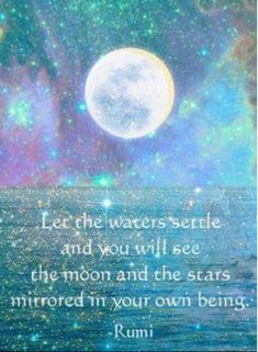 Explore powerful, rare and inspirational Rumi quotes. Here are the 100 greatest Rumi quotations on love, transformation, dreams, happiness and life. Sun Moon, Stars And Moon, Moon And Stars Wallpaper, You Are My Moon, John Bauer, Rumi Quotes, Qoutes, Inspirational Quotes, Motivational