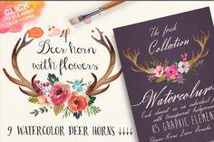 Watercolor flower DIY pack Vol.3 - Illustrations - 2