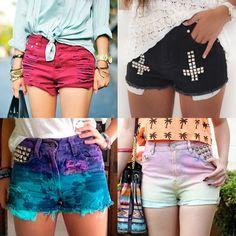 #fashion #highwaistedshorts #hipster