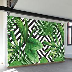 Outdoor Wall Paint, Outdoor Walls, Flur Design, Wall Design, Design Design, House Design, Mural Wall Art, Mural Painting, Bathroom Mural
