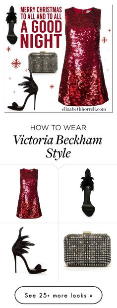 """Merry Christmas my Lovelies!"" by elizabethhorrell on Polyvore featuring Zara, Giuseppe Zanotti, Yves Saint Laurent and Sixtrees"