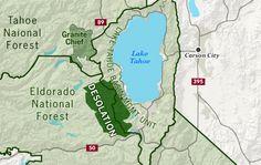 Desolation Wilderness Lake Tahoe CA