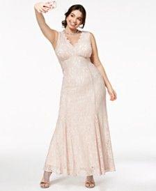 Plus Size Prom Dresses 2018 - Macy\'s | Wedding | Prom ...