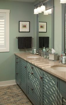 Louvered Vanity Design Ideas, Pictures, Remodel and Decor