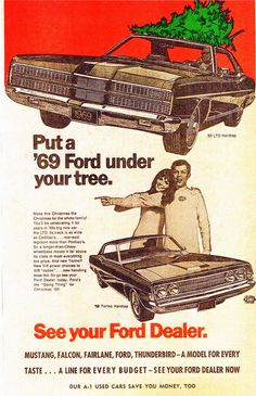 1969 Ford LTD Hardtop and Torino Hardtop by aldenjewell, via Flickr
