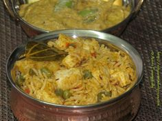 Paneer Biryani   This one-pot meal combines cottage cheese with rice, vegetables and mild spices. I love to make this biryani on a weekday evening as its constituents make it a complete meal.