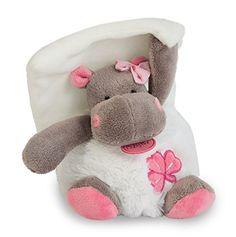 Baby nat' Pantin avec Doudou Zoé l'Hippo Rose