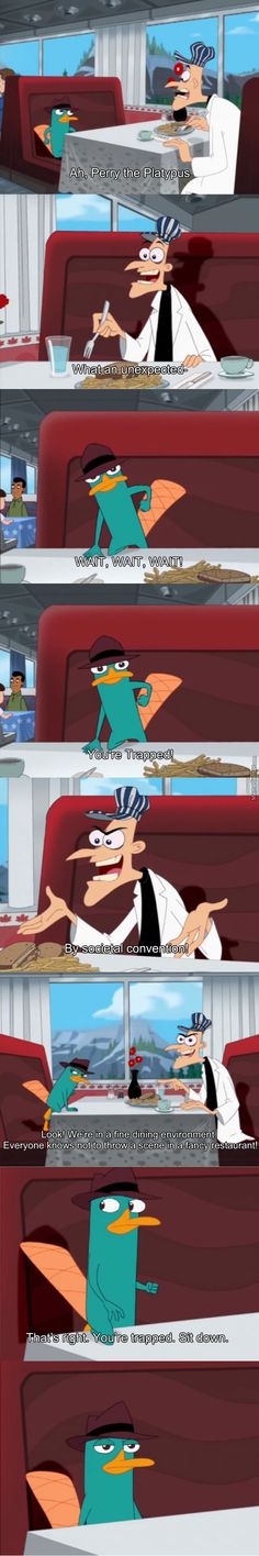 The best trap Doofenshmirtz has ever pulled