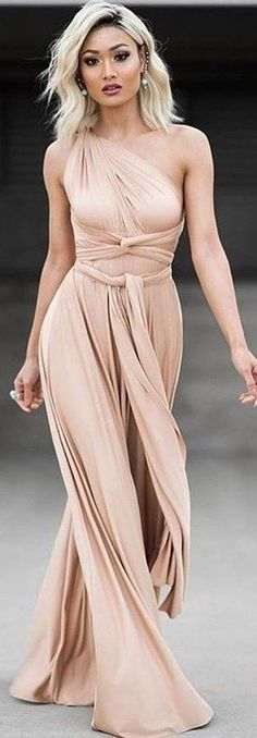 #summer #sensual #chic #outfits    Nude Gown …