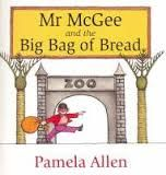 Mr McGee and the Big Bag of Bread - Pamela Allen - Do not feed the animals , the notice board said. But Mr McGee had a big bag of bread. Share in the fun as Mr McGee sets out to feed the animals in the zoo, and meets one very hungry crocodile! Books For Boys, Childrens Books, Hungry Crocodile, Books Australia, Book Week Costume, Author Studies, Mentor Texts, Reading Strategies, Comprehension Strategies