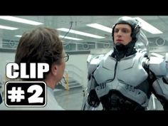"ROBOCOP Movie Clip # 2 ""ROBOCOP Wakes Up"""