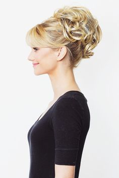 Meet Rena - our best-selling, curly wired updo extension piece! One order comes with two pieces. This hair extension piece is the sister version of the Tiffany. The Rena is longer in length and also v Box Braids Hairstyles, Elegant Hairstyles, Hairstyles Videos, Updo Hairstyle, African Hairstyles, Vintage Hairstyles, Pretty Hairstyles, Curly Hair Styles, Natural Hair Styles