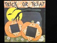 +pib  OOAK Handmade Halloween Trick or Treat by HighlandInspirations, $25.95