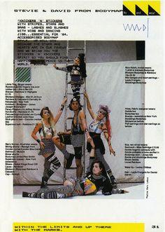 BodyMap en revista ID 1984