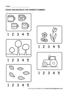 colorear cantidad 1 al 20 para preescolar - Buscar con Google