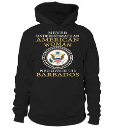 Never Underestimate an American Woman Who Lives in American Country T-Shirt #NeverUnderestimateAnAmericanWoman