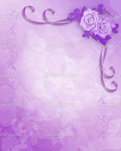 100 Great Wedding Invitation Border BG Images Bridal