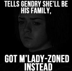 Wish I was M'Lady Zoned