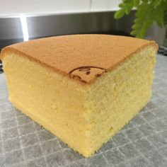 Butter Sponge Cake (Cooked Dough Method) * can be baked in a tube pan // 60g salted butter, 85g AP flour, 1/4 t baking powder, 4 egg yolks (from 60g eggs), 60g milk, 1 t vanilla extract, 4 egg whites, 75g caster sugar, 1/4 t cream of tartar