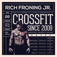 Crossfit Rich Froning DL  545 !!!!