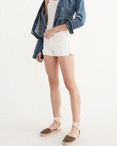 A&F Women's Low-Rise Shorts