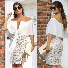Trending fall outfits ideas to get inspire 73 Dress Skirt, Lace Dress, Dress Up, Short Dresses, Summer Dresses, Formal Dresses, Mode Style, African Fashion, Fall Outfits