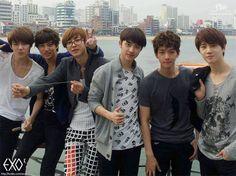 Exo k Sehun, Kai, Chanyeol, D.O, Baekhyun, Suho :3