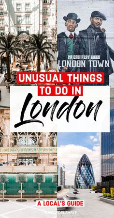 Looking for unusual things to do in London? Well here are 43 of the quirky things to do in London by a local. This London bucket lists Including non-touristy things to do in London, with secret London spots, best hidden gems in London. Like secrets spots in London you never knew existed and unique places to visit in London, England. No matter the season wether summer or winter this is the ultimate London bucket lists for anyone wanting to visit London and want to see London hidden gems… Scotland Travel Guide, Europe Travel Tips, Travel Destinations, Travel Plan, Travel Advice, European Destination, European Travel, European City Breaks, Things To Do In London